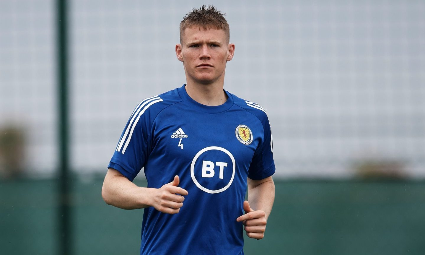 Scott McTominay starts for Scotland against Luxembourg.