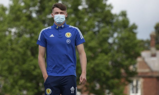 Scotland full-back Nathan Patterson  pictured at Rockliffe Park in Darlington.