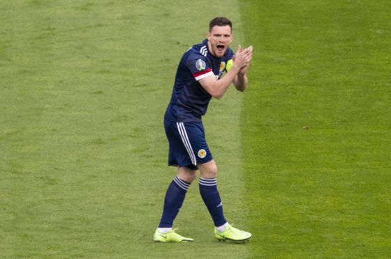 We need passion from Andy Robertson and his team-mates at Wembley