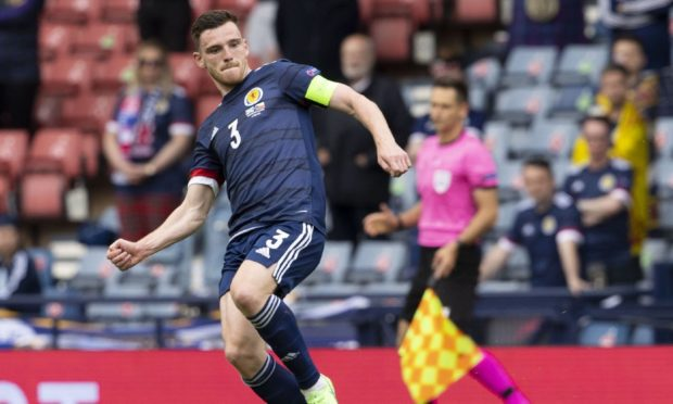 Andy Robertson was disappointed with the chances Scotland missed