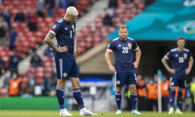 Scotland need to be upbeat ahead of facing England at Wembley