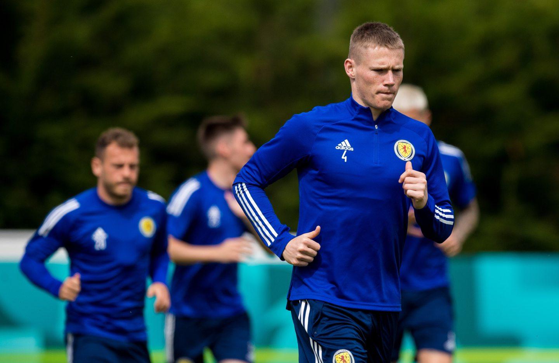 Scotland midfielder Scott McTominay.