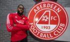 Jay Emmanuel-Thomas目前是Aberdeen唯一的高级前锋