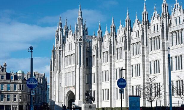 Marischal College, Aberdeen.