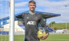 New Cove Rangers signing Kyle Gourlay. Picture by Dave Cowe