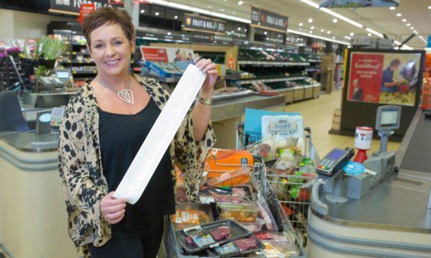 A previous contestant of Aldi's Supermarket Sweep