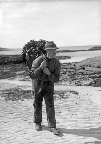 Archie MacEachern, Kinsadel, Arisaig. Supplied by National Museum of Scotland