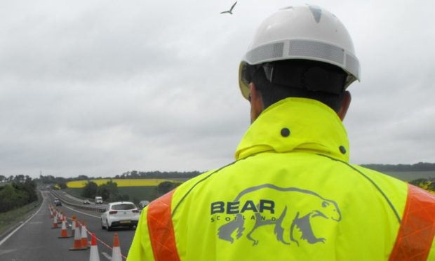 Bear Scotland has warned drivers to expect delays