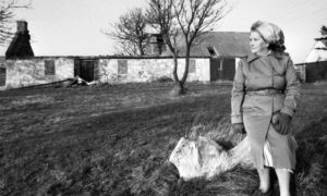 Mina King lived in Burnbanks Village before the place was finally abandoned in the 1980s.