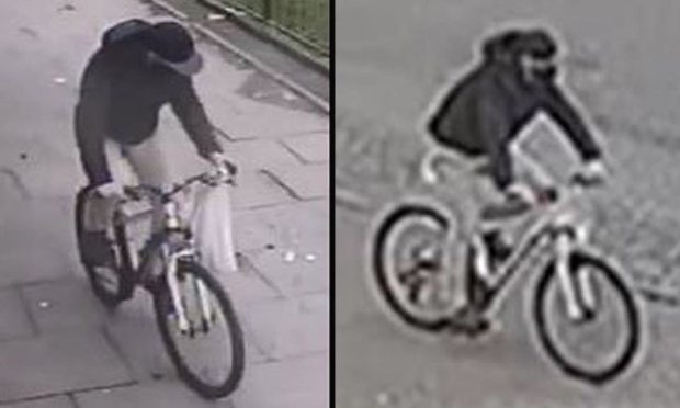 Police are looking for the man in released CCTV images