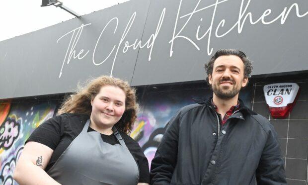 Owner Stuart Ross and manager Chloe Raitt head up the brunch delights at The Eggxorcist in Aberdeen.