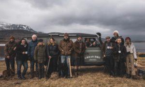 The Creag Dhu team that has been restoring peatlands.