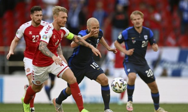 The match between Denmark and Finland was suspended after Christian Eriksen collapsed