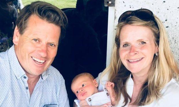 Duncan Barton, Annie Kenyon and their son Johnny Mac.