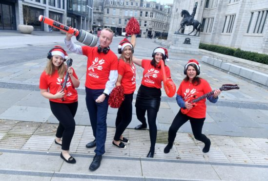 Friends of Anchor is Backing the Bid after benefiting from Aberdeen Inspired's silent discos as the 2019 Christmas Village