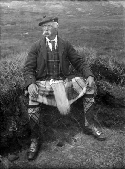 George MacDonald of Bunacaimb, Airsaig. Supplied by National Museum of Scotland