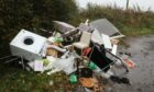 Aberdeen officials have recorded a stark rise in flytipping incidents across the city.