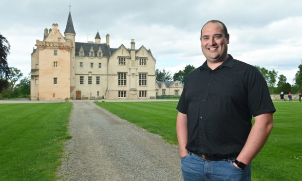 Brodie Castle operations manager James Dean.