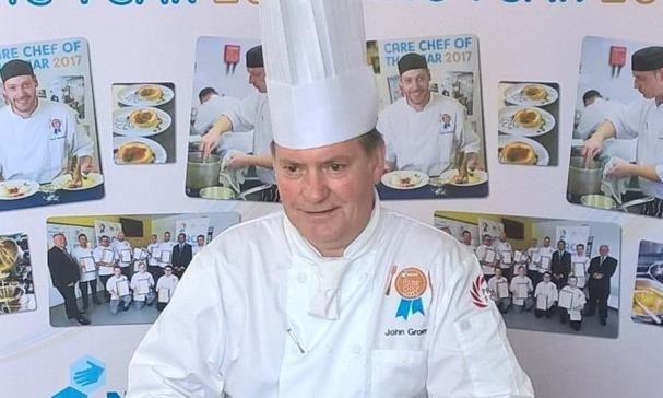 John Grover, head chef at Fairview House