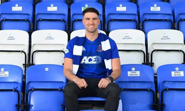 """""""I loved my time at Dumbarton but felt it was time for a new challenge. I'd known of Cove's interest for a wee while and I was keen to get it sorted, as it's a club on the up. """"I spoke to the gaffer and they wanted me on board regardless of whether they were in League One or the Championship. """"The first time I was up here we got beat 1-0 with the goal-line decision (for Rory McAllister's goal). I got booked right in front of the gaffer! """"I was gobsmacked by the way they tried to play football. With their facilities and their plans for the future, I was really keen to get it sorted. I was probably giving my agent an earful telling him to get it done. """""""