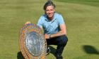 Scratch winner of the Aberdeen Links Championship, Bryan Innes. Picture by Kath Flannery