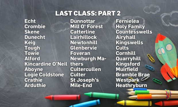 Last Class 2021: Primary 7 photos from schools across the north-east (Part 2)