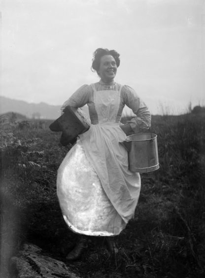 MEMD's maid, Sanna Bheag Ardnamurchan. Supplied by National Museum of Scotland