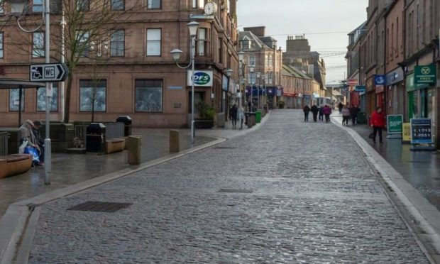 One of the proposals is to fully pedestrianise Marischal Street.