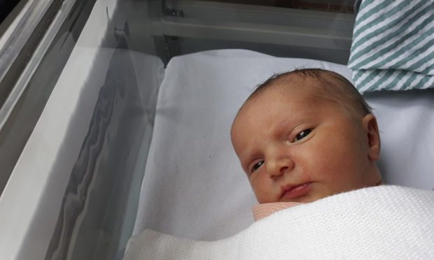 Baby Isabella Winfield was born 30th April 2021. Her parents are Margaret Paluszynska and Richard Winfield  PIC DEREK IRONSIDE / NEWSLINE MEDIA
