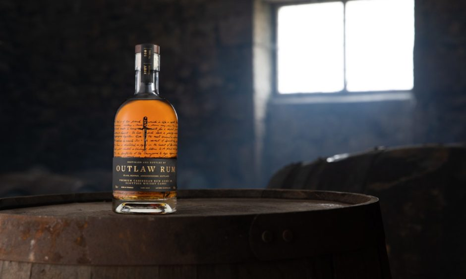 Oil and gas workers, Jim Ashley and Patrick Maris, are on a mission to put an altogether different kind of drink on the map with Outlaw Rum.