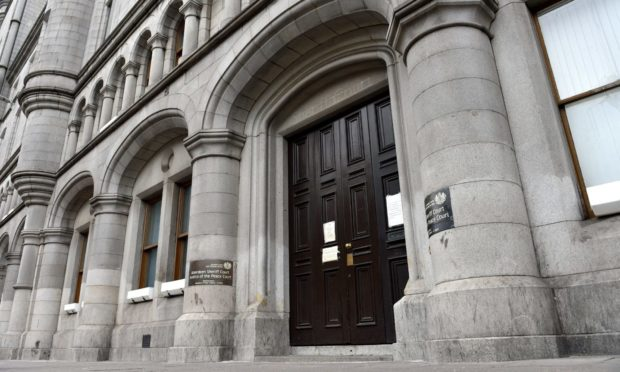 The case called at Aberdeen Sheriff Court