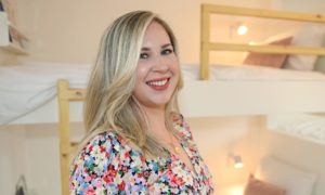 Robyn Park launched her own interior designs business.