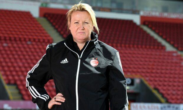 Aberdeen FC Women co-manager Emma Hunter