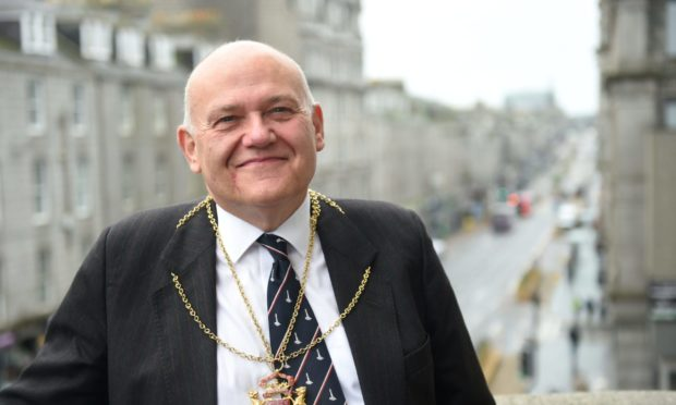 Lord Provost Barney Crocket once backed a bike hire scheme for Aberdeen