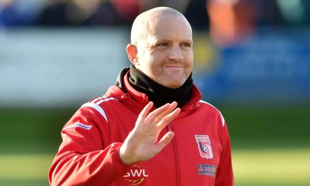 Inverurie Locos boss Andy Low sees Brechin City's entry into the Highland League as a positive. Picture by Scott Baxter