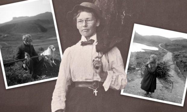 玛丽·埃塞尔·缪尔·唐纳森用大量的作品和照片记录了她对苏格兰高地的热爱,记录了一种消失已久的生活方式。