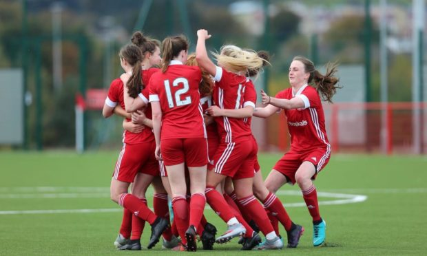 Aberdeen FC Women are six points clear at the top of SWPL 2.