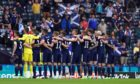 The Scotland squad before the Euro 2020 opener.