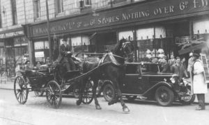 Woolworths opened its second branch in Aberdeen, taking up residence at large premises on Union Street in 1926. It was a busy thoroughfare in this photo from the 1930s.
