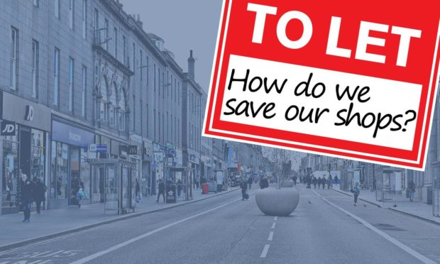 There are currently nearly 80 empty retail units in the city centre.