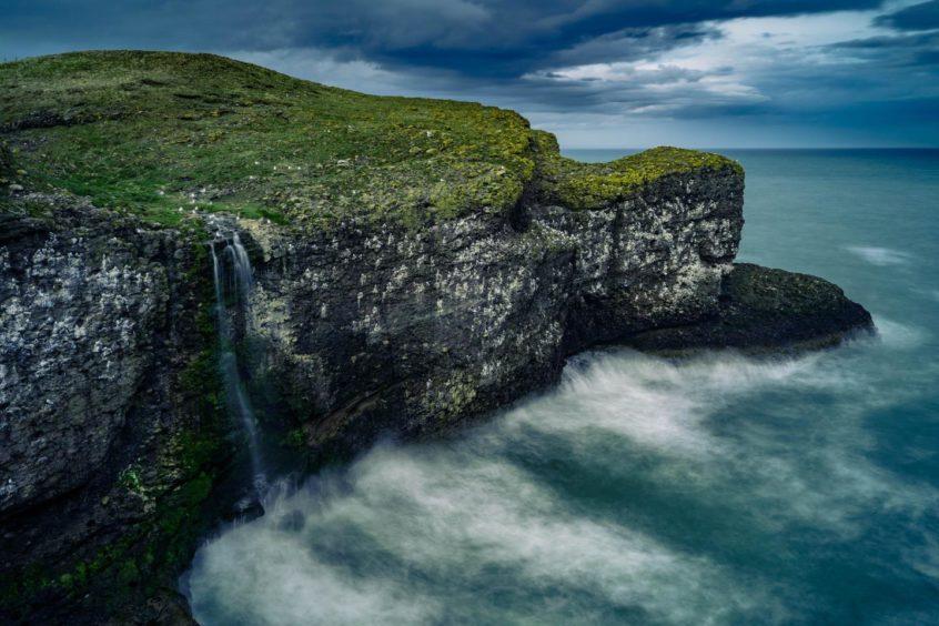 VA May - RediscoverABDN - Arek Cichy - Crawton Waterfall