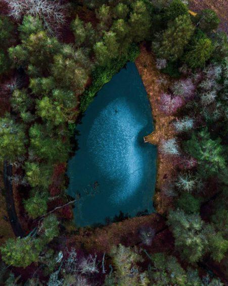 VA May - RediscoverABDN - Daniel Christie - Arrowhead Loch, Glen Tanar Estate