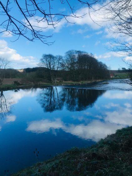 VA May - RediscoverABDN - Morag Pyper - Reflections in the River Don