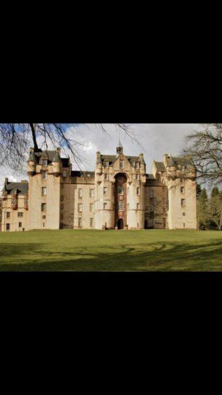 VA May - RediscoverABDN - Vera Taylor - Fyvie Castle