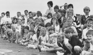 Victoria Road School 1988-06-23 (C)AJL  23 June 1988  'Sports day for the pupils of Aberdeen's Victoria Road Primary School provided the thrill of victory for some – and lots of fun for all.'  EE 24/06/1988; 20/08/2016
