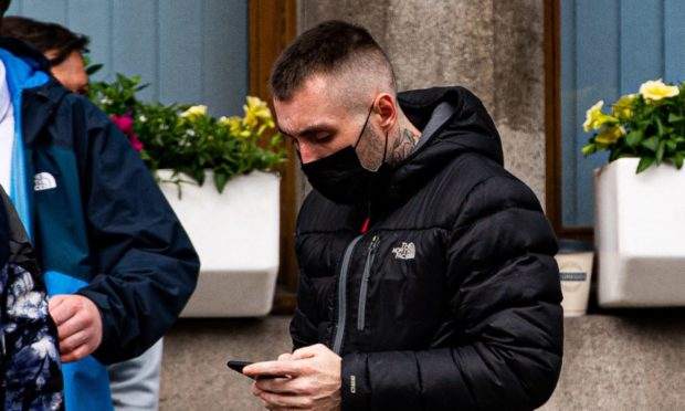 Steven Whyte leaving court.