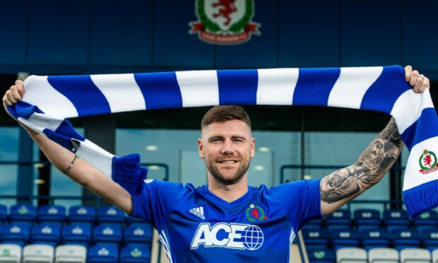 Cove Rangers new signing Iain Vigurs.