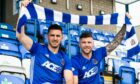 Ross Draper, left, and Iain Vigurs have signed for Cove Rangers