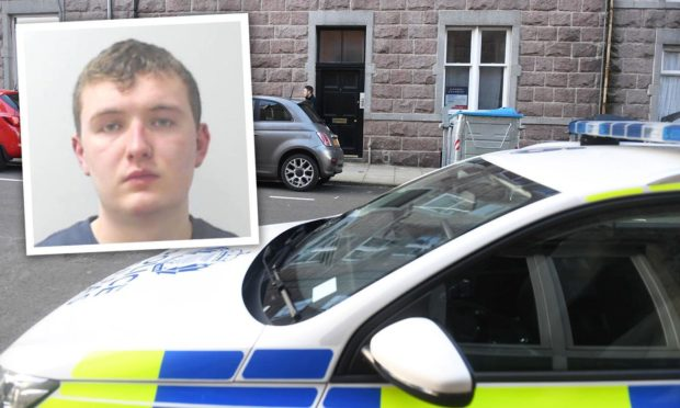Callum Duncan was jailed for eight years for raping a woman on Raeburn Place.