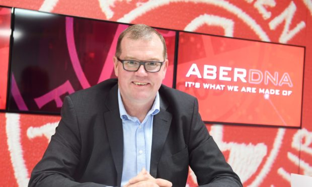 Aberdeen commercial director Rob Wicks is looking forward to seeing fans back at Pittodrie